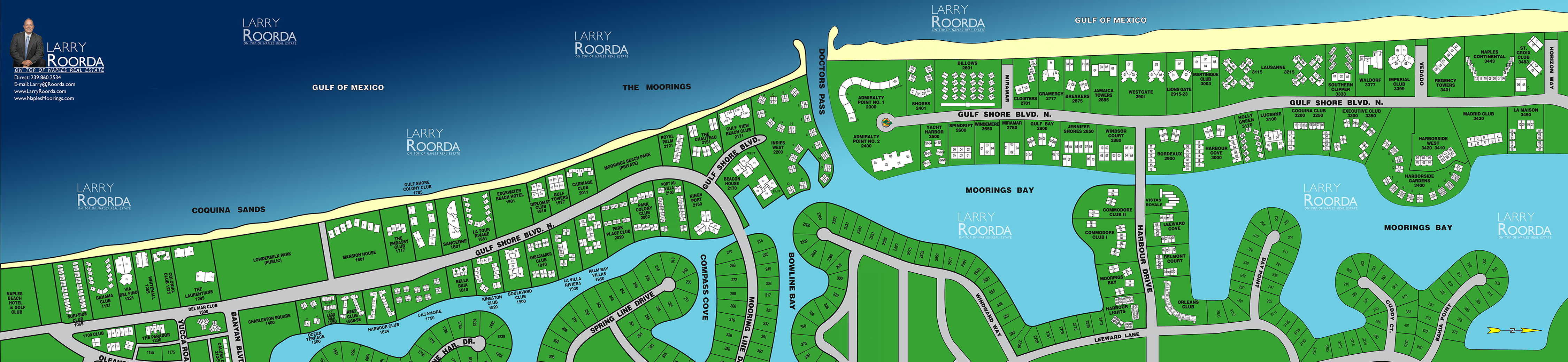 Moorings Interactive Map
